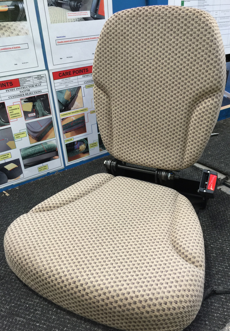 CMG's Metal Injection Moulding facilitates reshoring for Sears Seating